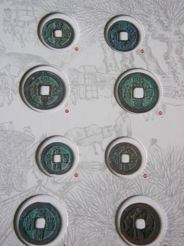 Northern Song bronze coins