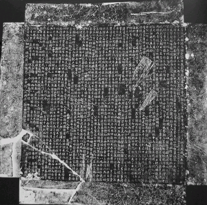 Tomb inscription of the Wudai military governor (jiedushi 節度使) Wang Chuzhi 王處直 (863-923); the original is kept by the Hebeisheng wenwu yanjiusuo 河北省文物研究所, Shijiazhuang 石家莊.