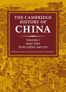 Cover of Cambridge History of China, Vol. 5, part 2